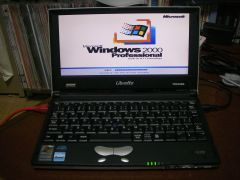 Windows 2000@Libretto L5