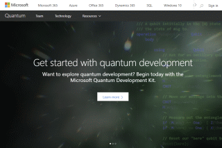 Get started with quantum development