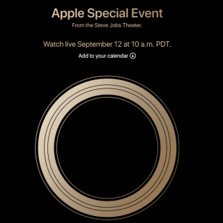 Apple Special Event From the Steve Jobs Theater. Watch live September 12 at 10 a.m. PDT.