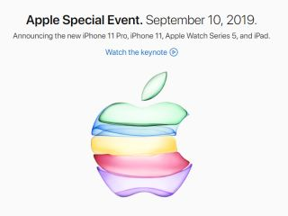 Apple Special Event. September 10, 2019.